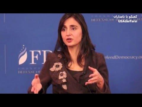 رویا حکاکیان در برنامه «گفتگو با نامداران» سفارت مجازی تهران