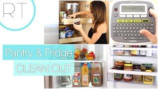 Refrigerator/Pantry Organizing Ideas + Tips