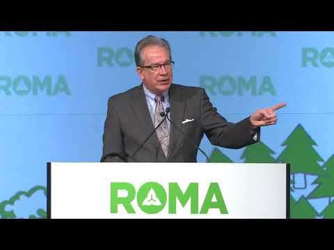 2018 ROMA Conference, The Honourable Jeff Leal, Minister of Agriculture, Food, and Rural Affairs