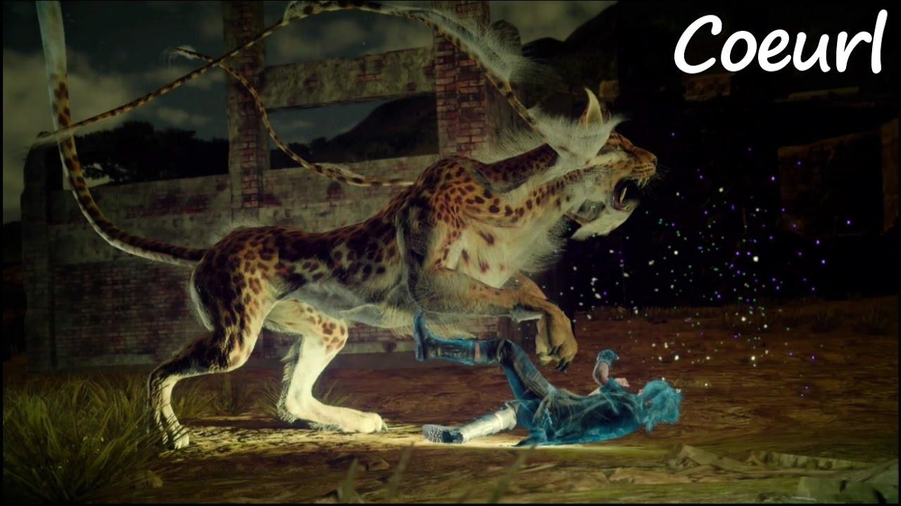 Final Fantasy XV Level 34 Coeurl YouTube