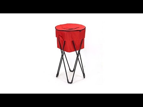 Improvements Insulated Collapsible Cooler with Stand