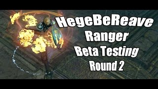 HegeBeReave Self Found HC Beta 2nd Round of Testing