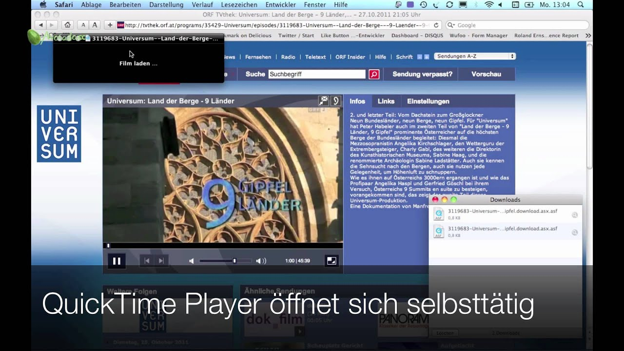 How To Download Orf Tvthek Neu Youtube