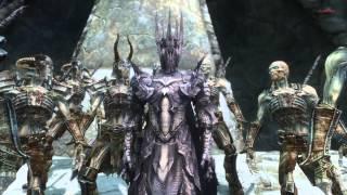 Repeat youtube video Skyrim : Sauron Armor Mod