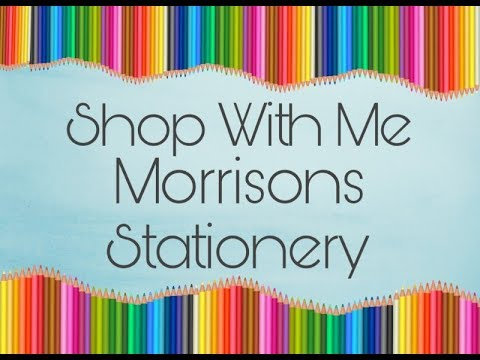 Shop With Me - Stationery Section at Morrisons - Back to School ?