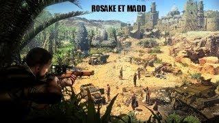 Rosake + Madd - Sniper Elite 3 : On découvre le jeu avec vous !