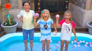 5 Surprise Pool Challenge with my FRIENDS!  Payton Delu
