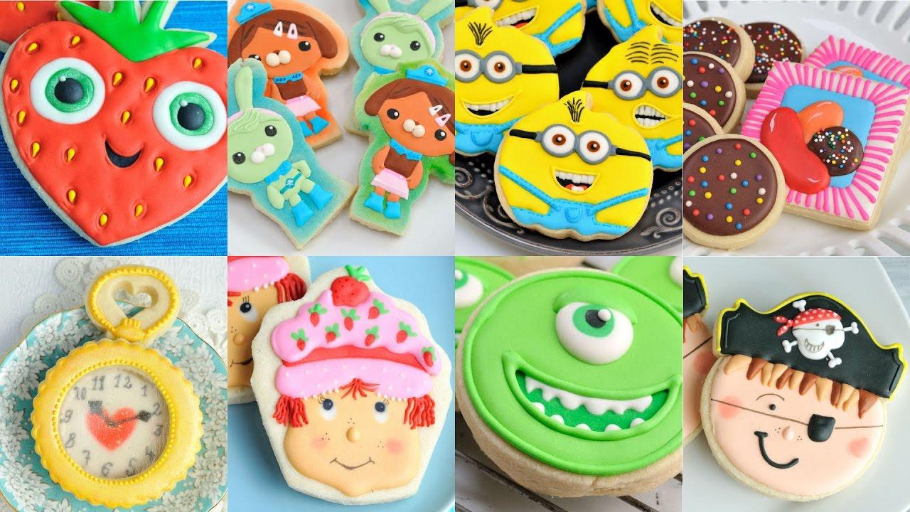 AMAZING DECORATED COOKIES, MINIONS, OCTONAUTS,CANDY CRUSH ... - photo#18