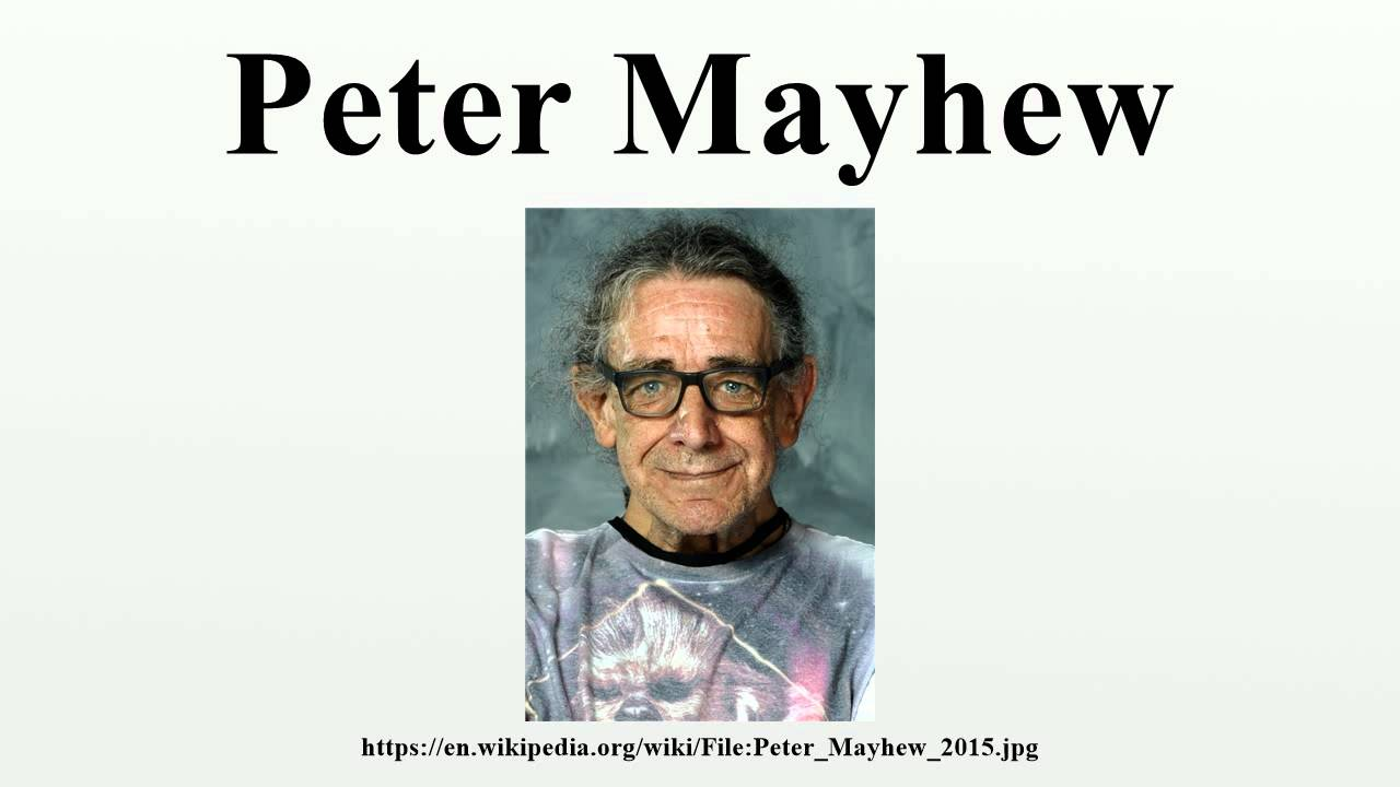 photo Peter Mayhew (born 1944)