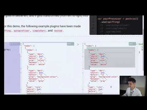 Build your own CSS Preprocessor with Rework or PostCSS - Singapore JS Meetup