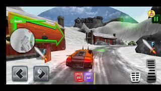 How To Play Furious Car Shooting Game Snow Car war Games 2021 screenshot 1