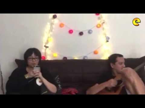 John Lloyd Cruz Jams With Armi Millare Of Up Dharma Down