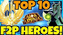 [AFK ARENA] TOP 10 FREE TO PLAY HEROES!!!