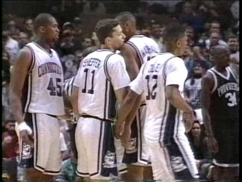 PC v UCONN 3 1994, Donell & Donny Marshall, Kevin Ollie, Ray Allen, Sheffer, Michael Smith, Dickey S