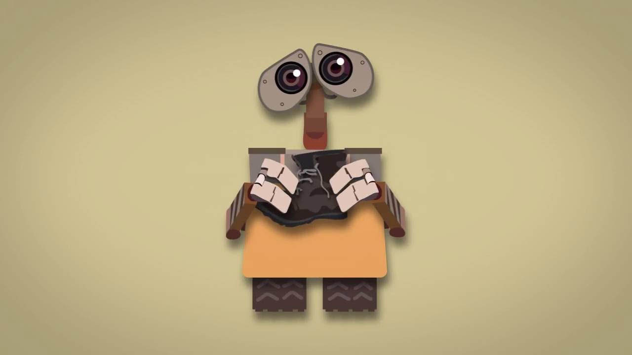 Wall-E Title Sequence Project - YouTube