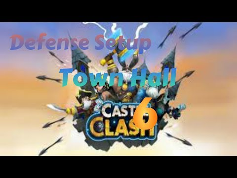 Castle Clash - Defense Strategy For Town Hall Level 6