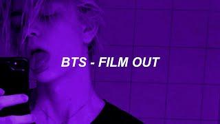 BTS (방탄소년단) 'Film out' Easy Lyrics