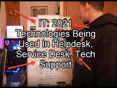 IT: 2021 Technologies Being Used In Helpdesk, Service Desk, Tech Support