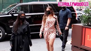 Addison Rae & Kourtney Kardashian Face Backlash In The Streets Of New York While Out Shopping
