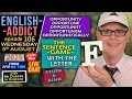 ENGLISH ADDICT - 106 / LIVE - Wed 5th August 2020 / F Words / Junk and Stuff / Opportunity words