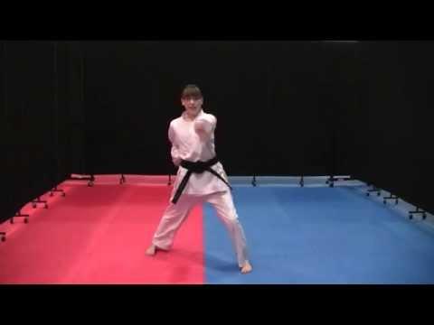 Chon-Ji Kata ~ Lake Arlington Karate Academy