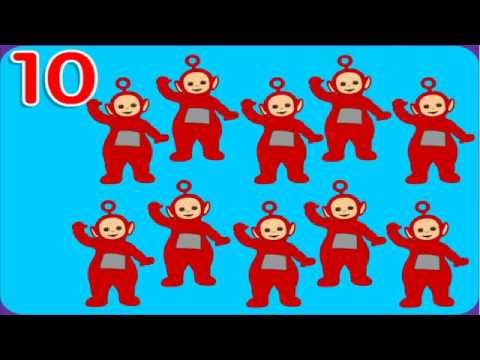 Teletubbies - Count Of Number - Teletubbies Game