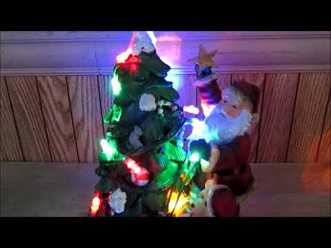 Santa Claus Synchronized Musical LED Christmas Tree 2007 Innovage