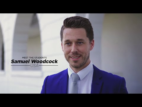 Meet our Students: Samuel Woodcock from the United States