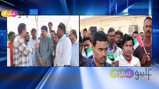 Dubai:Grand Celebrations of UAE National Day in Bu Haleeba workers camp