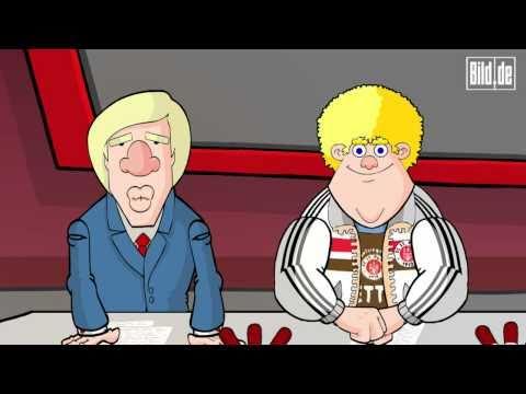 Hoffenheim - Schalke 2:0 / Der 3.Spieltag der Bundesliga 10.09.2010/ Zeichentrick Fussballshow