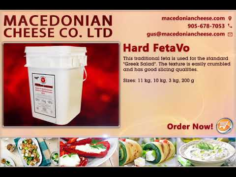 Macedonian Cheese Co | Hard FetaVo | manufacturer &  wholesaler | Toronto, Canada