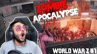 AUR KITNE ZOMBIE??? - FUNNY CARRYMINATI World War Z Highlight #1