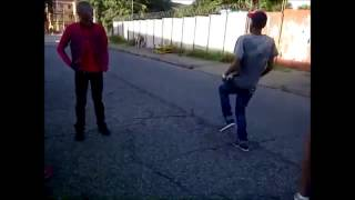 Bhenga Boys doing the double step with Vosho