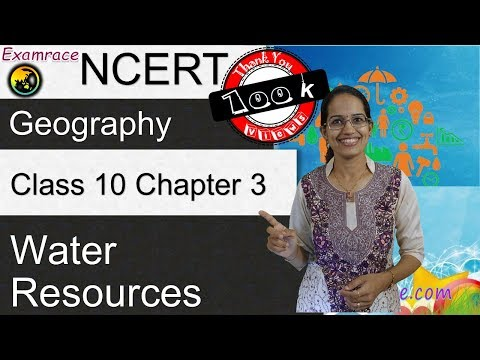 NCERT Class 10 Geography Chapter 3: Water Resources