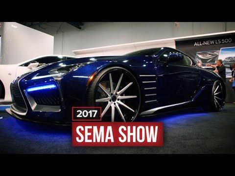 Vibranium coated, Black Panther Lexus LC 500 at SEMA 2017