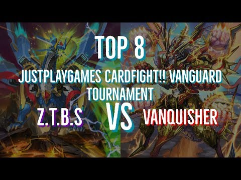 Justplaygames Cardfight!! Vanguard Tournament Top 8