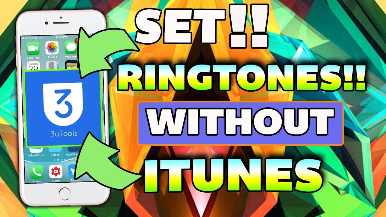 how to add ringtones to iphone without itunes