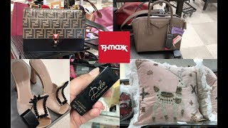 TJMAXX SHOP WITH ME! HIGH END DESIGNER ITEMS!