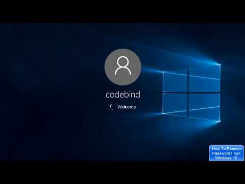 How To Remove Password From Windows 10 | How To Disable Windows 10 Login Password