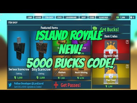 Roblox Island Royale Eruption Code Update! New Roblox ...