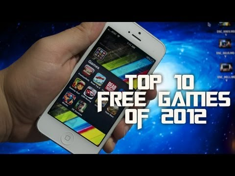 Top 10 Best Free Games Of 2012 For Iphone Ipod Ipad