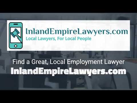 Inland Empire Employment Lawyers