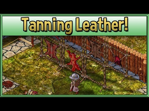 Leather Tanning! - How to Play Hafen Haven & Hearth Guide - #3 - Tips & Tutorial