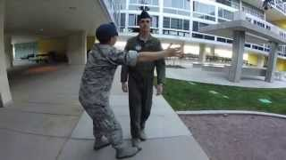10 Hours Walking at USAFA as a Doolie