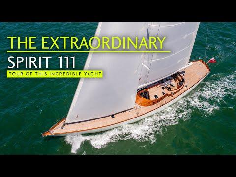 Sailing art? Full tour of the EXTRAORDINARY Spirit 111 superyacht