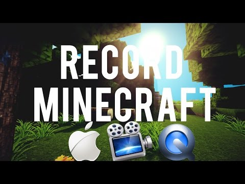 How to Record Minecraft With Screenflow or Quicktime On A Mac!