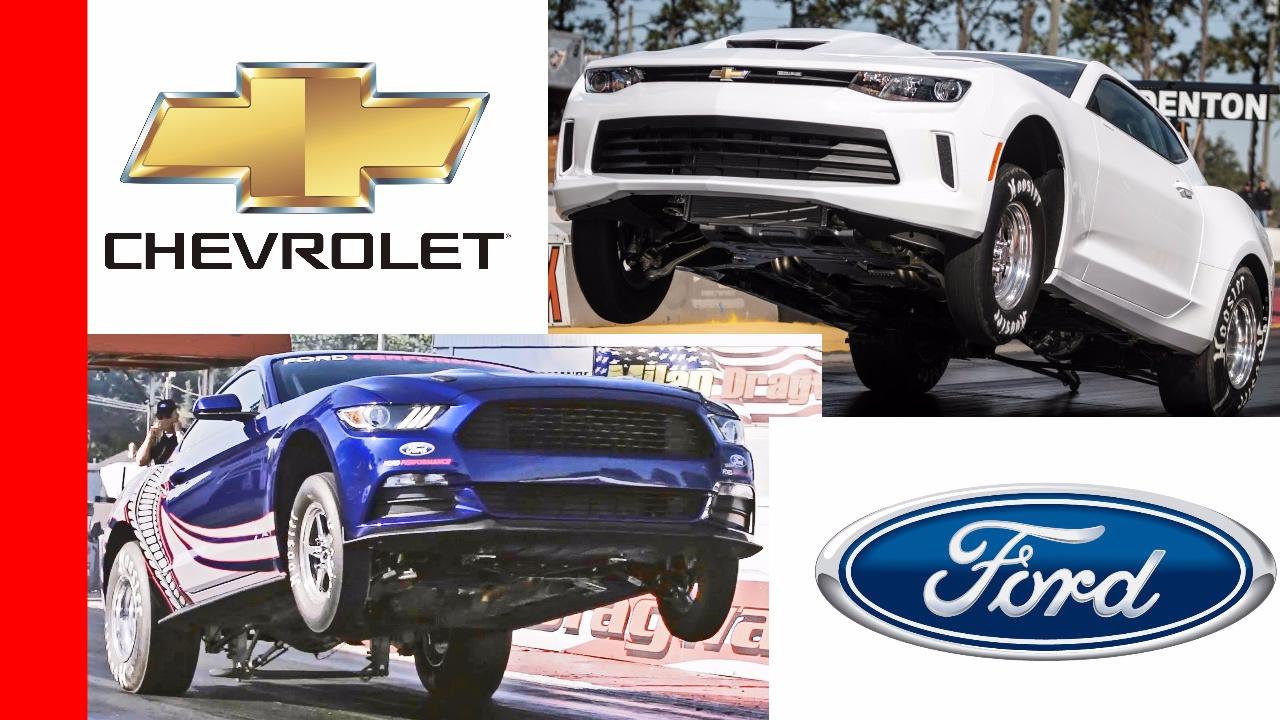 Ford Mustang Cobra Jet vs Chevrolet COPO Camaro - YouTube