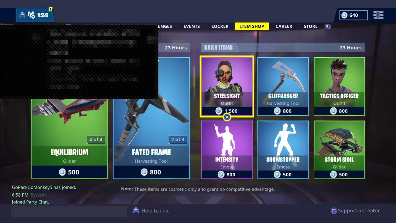 New Fortnite Item Shop Countdown February 25th New Skins