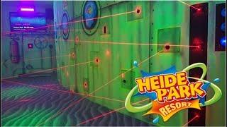 Theme Park Challenge: Heide Park Laser Maze