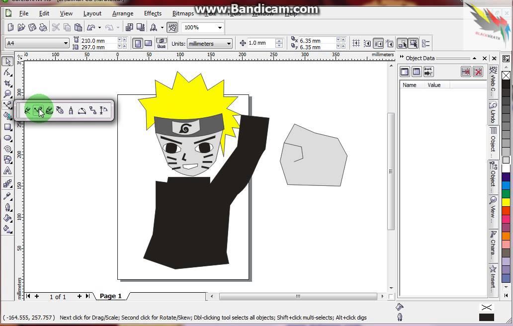 86+ Gambar Naruto Coreldraw Terlihat Keren